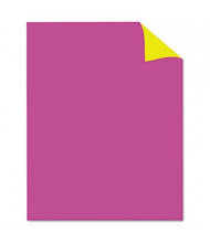 "Royal Brites 28"" x 22"" 25-Pack Two-Color Pink/Canary Poster Boards"