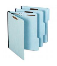 "Globe-Weis 2"" Expansion 1/3 Tab 2-Fastener Letter Folder, Blue, 25/Box"