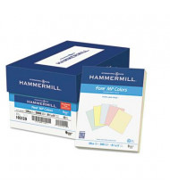 """Hammermill 8-1/2"""" x 11"""", 20lb, 500-Sheets, Assorted Recycled Colored Paper"""