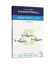 "Hammermill Great White 11"" X 17"", 20lb, 500-Sheets, Recycled Copy Paper"