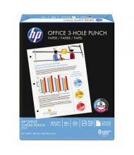 "HP 8-1/2"" x 11"", 20lb, 500-Sheets, 3-Hole Punched Office Paper"