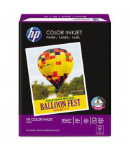 "HP 8-1/2"" X 11"", 24lb, 500-Sheets, Color Inkjet Paper"