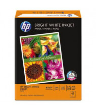 "HP 8-1/2"" X 11"", 24lb, 500-Sheets, Bright White Inkjet Paper"
