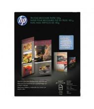 "HP Tri-Fold 8-1/2"" X 11"", 48lb, 100-Sheets, Glossy Brochure Paper"