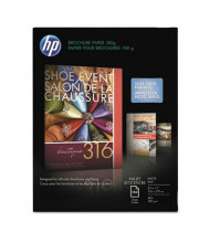 "HP 8-1/2"" X 11"", 48lb, 150-Sheets, Matte Brochure Paper"