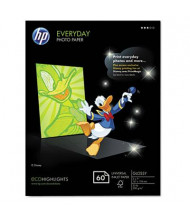"HP Everyday 5"" X 7"", 53lb, 60-Sheets, Glossy Photo Paper"