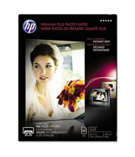 "HP Premium Plus 8-1/2"" X 11"", 80lb, 50-Sheets, Glossy Photo Paper"