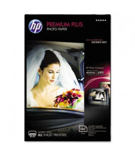 "HP Premium Plus 4"" X 6"", 80lb, 100-Sheets, Soft-Gloss Photo Paper"