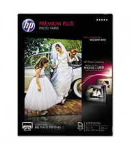 "HP Premium Plus 8-1/2"" X 11"", 75lb, 50-Sheets, Soft-Gloss Photo Paper"