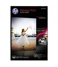 "HP Premium Plus 4"" X 6"", 80lb, 100-Sheets, Glossy Photo Paper"