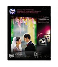 "HP Premium Plus 8-1/2"" X 11"", 80lb, 25-Sheets, Glossy Photo Paper"
