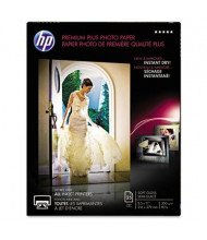 "HP Premium Plus 8-1/2"" X 11"", 80lb, 25-Sheets, Soft-Gloss Photo Paper"