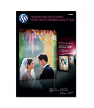 "HP Premium Plus 11"" X 17"", 75lb, 25-Sheets, High-Gloss Photo Paper"