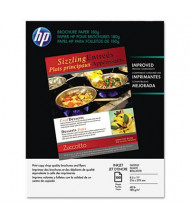 "HP 8-1/2"" X 11"", 48lb, 150-Sheets, Glossy Brochure Paper"