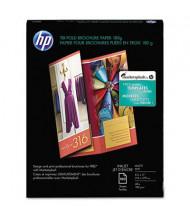 "HP Tri-Fold 8-1/2"" X 11"", 48lb, 100-Sheets, Matte Brochure Paper"