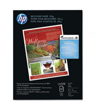 "HP 8-1/2"" X 11"", 40lb, 150-Sheets, Matte Brochure Paper"