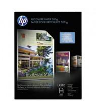 "HP 8-1/2"" X 11"", 52lb, 100-Sheets, Glossy Brochure Paper"