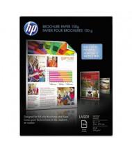 "HP 8-1/2"" X 11"", 40lb, 150-Sheets, Glossy Brochure Paper"