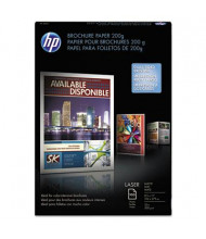 "HP 8-1/2"" X 11"", 52lb, 100-Sheets, Matte Brochure Paper"