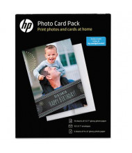 """HP 5"""" x 7"""", 10-Cards, Photo Card Pack"""