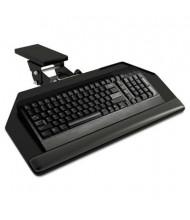 "HON 17"" Track Keyboard Platform with Articulating Arm, Black"