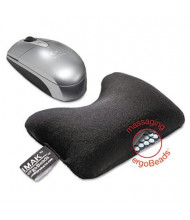 "IMAK 5-3/4"" x 3-3/4"" Mouse Wrist Cushion, Black"