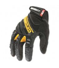 Ironclad SuperDuty Medium Work Gloves, Black