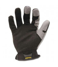 Ironclad Workforce Large All-Purpose Gloves, Gray/Black