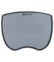 "Innovera 8-3/4"" x 7"" Ultra Slim Nonskid Mouse Pad, Gray"