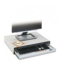 "Innovera 15"" Track Standard Desktop Keyboard Drawer, Light Gray"