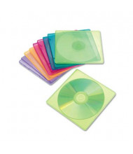 Innovera 10-Pack Slim CD Case, Assorted Colors