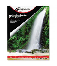 "Innovera 8-1/2"" X 11"", 11 mil, 50-Sheets, Matte Photo Paper"