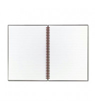 "Black N' Red 8-1/2"" X 11"" 70-Sheet Legal Rule Wirebound Notebook, Black Cover"