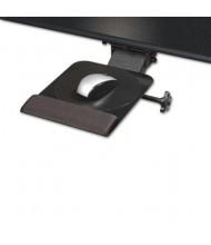 "Kelly Computer Supply 18"" Track Dual Swivel Adjustable Mouse Platform, Black"