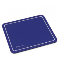 "Kelly Computer Supply 9"" x 7-3/4"" SRV Optical Mouse Pad, Blue"