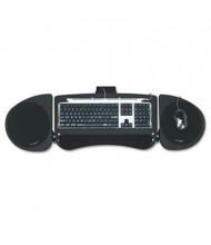 """Kensington 21"""" Track Adjustable Under-Desk Keyboard Platform with SmartFit, Black"""