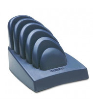 Kensington 75-Sheet Capacity Plastic Freestanding Copyholder, Dark Blue/Gray