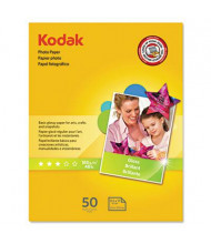 "Kodak 8-1/2"" X 11"", 6.5 Mil, 50-Sheets, Glossy Photo Paper"