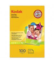 "Kodak 4"" X 6"", 6.5 Mil, 100-Sheets, Glossy Photo Paper"