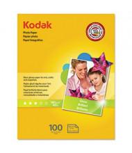 "Kodak 8-1/2"" X 11"", 6.5 mil, 100-Sheets, Glossy Photo Paper"