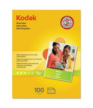 "Kodak 8-1/2"" x 11"", 39lb, 100-Sheets, Matte Photo Paper"