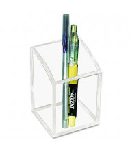 Kantek Clear Acrylic Pencil Cup