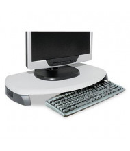 "Kantek 3"" H CRT/LCD Stand with Keyboard Storage, Gray"