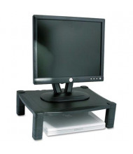 "Kantek 3"" to 6-1/2"" H Height-Adjustable Monitor Stand, Black"