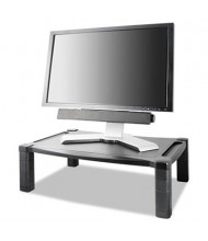 "Kantek 3"" to 6-1/2"" H Wide Deluxe Monitor Stand, Black"