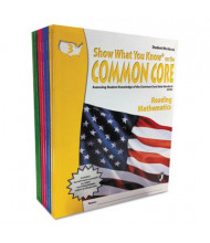 Show What You Know Common Core Math & Reading Grades 3-6 Assessment Reference Kit, 1280 Pages