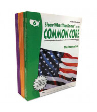 Show What You Know Common Core Math & Reading Grades 6-8 Assessment Reference Kit, 1136 Pages