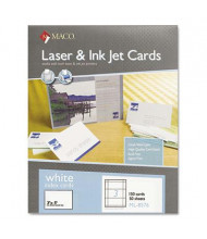 "Maco 3"" X 5"", 150-Cards, Unruled Index Card Stock"