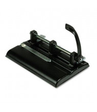 Master 1325B 40-Sheet Lever Adjustable 2- to 7-Hole Punch