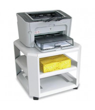 Master 3-Shelf Underdesk Printer Cart, Gray